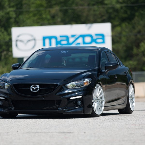 2014 mazda 6 custom. black mazda 6 with custom led headlights photo by vossen 2014