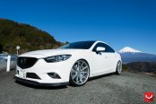 White Mazda 6 Slightly Restyled