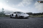 Elegant Gray McLaren 12C Receies Carbon Fiber Front Bumper and More