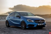 Neatlly Customized Blue Mercedes A Class