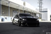 C Is for Cool: Stanced Black Matte Mercedes C Class