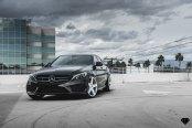 Iconic Mercedes C-Class Boasting Custom Blaque Diamond Wheels