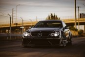 Mercedes CLK With Kleeman Body Kit and ADV1 Rims