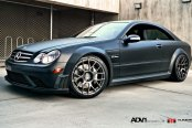 German Muscle Car - Mercedes CLK63 Black Edition
