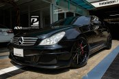 Dangerous Benz With AMG Accents And ADV1 Rims