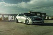 Pure Luxury - Lowered Mercedes CLS by ADV1