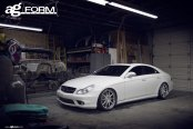 When Form Meets Function: White Mercedes CLS with Custom Accessories