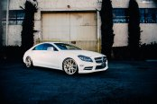 Performance, Technology and Luxury Meet in Customized White Mercedes CLS