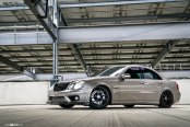 Bold and Elegant Gray Mercedes E-Class Gets Subtle Exterior Changes