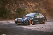 Dark Blue Mercedes E-Class Boasting Innovative Tuning Kit
