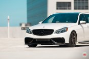 Mercedes E Class Goes Elegant with Forged Vossen Wheels on