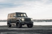 Black Mercedes G Class Boasts Improved LED Lighting and More