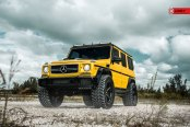 Yellow Mercedes G Class Fully Loaded with Custom Upgrades