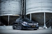 Showy Black Mercedes GLA Class Reworked by Tuning Kings