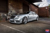 Silver Bullet: Bespoke Mercedes S Class Fitted with Chrome Billet Grille