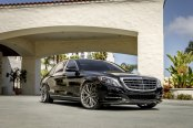 Chrome Accents and Custom Wheels Reveal the Exclusive Spirit of Black Mercedes S Class