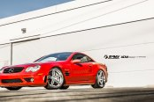 Tag Motorspoprts Puts Its Hands on Stunning Red Mercedes SL Class V12