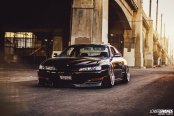 Ultra-Modern Black Nissan 240SX Receives Custom Body Kit and More