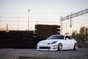 Greatly Stanced Nissan 350Z Gets Custom Parts