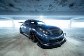 Modified Nissan Altima with Air Suspension and Sport Body Kit