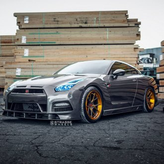 Gray Nissan GT-R Customized in a Very Unique Way