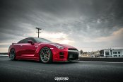 Baby Customized Godzilla: Red Nissan GT-R with Custom Parts