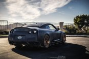 Unique Nissan GT-R Sporting Bronze Brixton Forged Rims