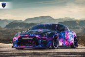 Nissan GT-R Appears Gorgeous with Custom Body Styling