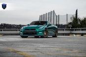 Incerdibly Stylish Nissan GT-R Rocking Bronze Forged Rohana Wheels