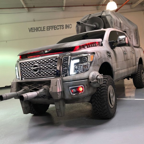 Custom Star Wars Nissan Titan AT-M6 - Photo by Vehicle Effects Inc