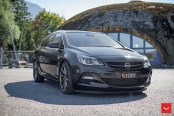 A Few Exterior Upgrades for Black Opel Astra