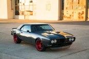 Beautiful Reworked Front End of Black Pontiac Firebird