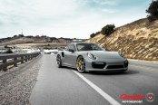 Elegant and Upscale Porsche 911 Boasts Custom Wheels and Yellow Calipers