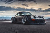 Radical Customization of Porsche 911 By RWB Fitted With Rotiform Special Edition Wheels