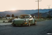 Bespoke RWB Porsche 911 Turbo With Sport Suspension and Forged Rotiform Rims