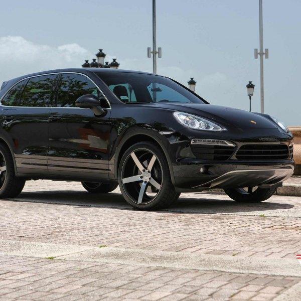 Black Porsche Cayenne: Images, Mods, Photos, Upgrades