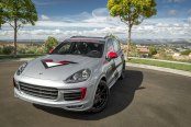 Next to the Word Extraordinary in the Dictionary: Custom Gray Porsche Cayenne