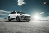 Porsche Macan Rocking a Set of Carbon Graphite Vorsteiner Wheels