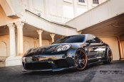 Panamera Perfection: Forged Rennen Wheels on Beautiful Porsche
