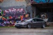 Bespoke Gray Renault Laguna Shod in Chrome JR Rims