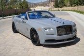 Unique Blue Interior for VIP Rolls Royce Dawn Convertible