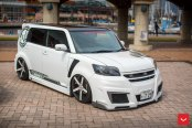 Completely Reworked Scion Xb With Air Suspension and Vossen Rims