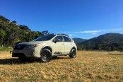 Exclusive Outdoor Inspired Paint Job Spotted on Beige Subaru Crosstrek