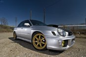 Unparalleled Style of Custom Gray Subaru WRX STI