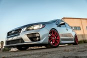 Exterior and Performance Improvements for Gray Subaru WRX