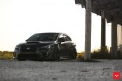 Murdered Out Subaru WRX Boasts a Trully Misterious Appearance