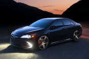 Stylish Black Toyota Camry Sporting TIS Wheels