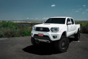 Super Clean Lifted Toyota Tacoma On Black Rhino Off-road Wheels