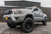 Rotiform SIX Off-road Rims on Lifted Toyota Tacoma Truck