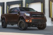 Brown Toyota Tundra Ready to Go Off-Road